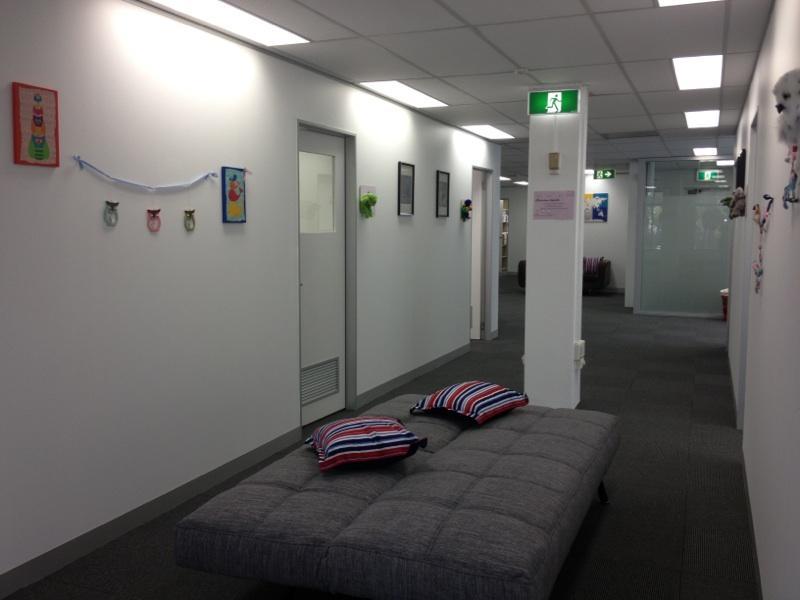 Corridor waiting area